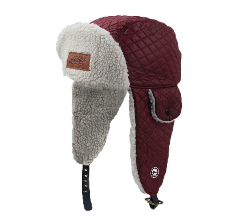 TUQUE ORIGINAL TRAPPERS - BOURGOGNE