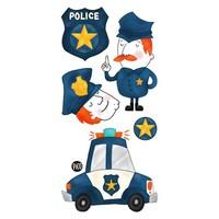 TATOUAGES TEMPORAIRES - MATHIS LA POLICE
