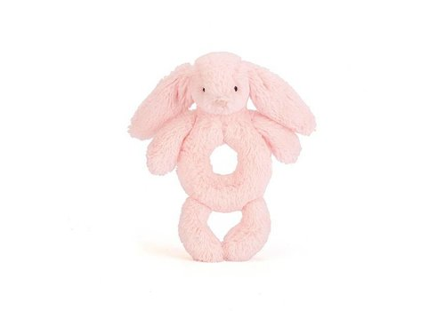 JELLYCAT HOCHET LAPIN TIMIDE ROSE