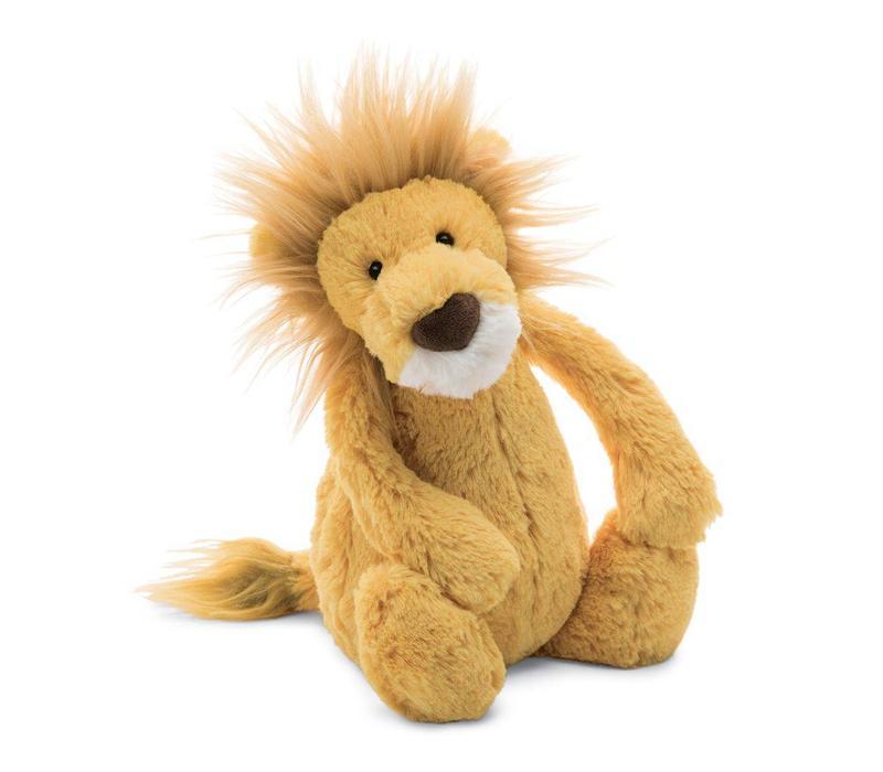 PELUCHE LION TIMIDE