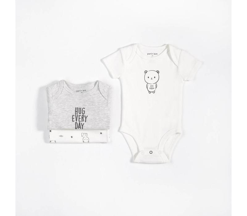 *DERNIÈRE CHANCE!* ENS. 3 CACHE-COUCHES - BABY BEAR / 9 MOIS