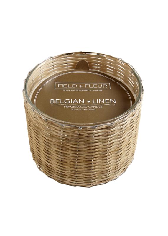 Belgian Linen Candle
