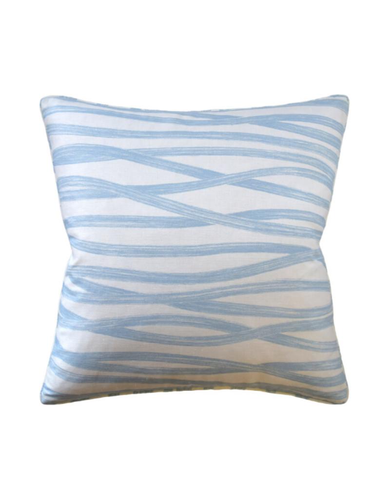 Sky Brushstroke Pillow