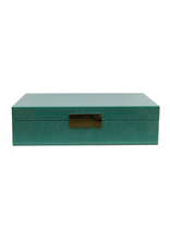 Green Shagreen Box
