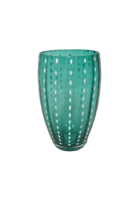 Set of 6 Green Italian Beverage Glasses