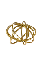 Gold Metal Sculpture
