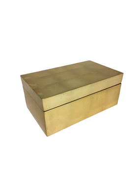 Gold Leaf Box