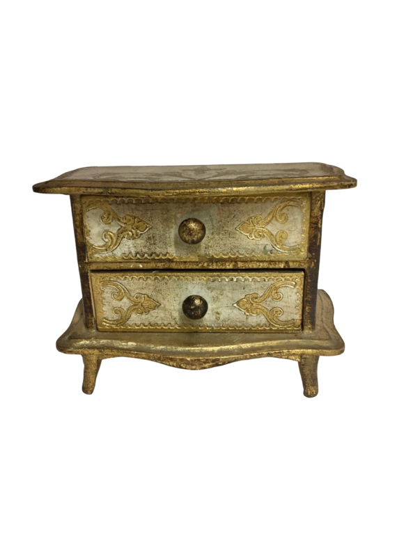 Vintage Florentine Box