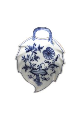 Vintage Blue & White Meissen Ceramic Dish