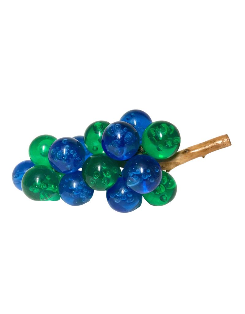 Vintage Blue & Green Grapes