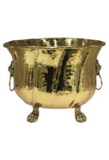 Vintage Brass Cachepot