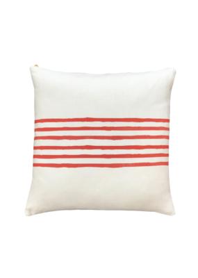Orange Stripe Pillow