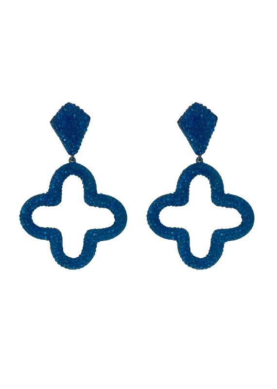 Swarovski Clover Earrings