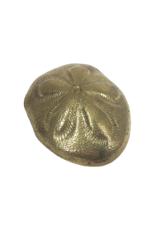 Vintage Brass Sand Dollar