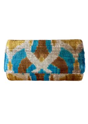 Silk Tapestry Clutch