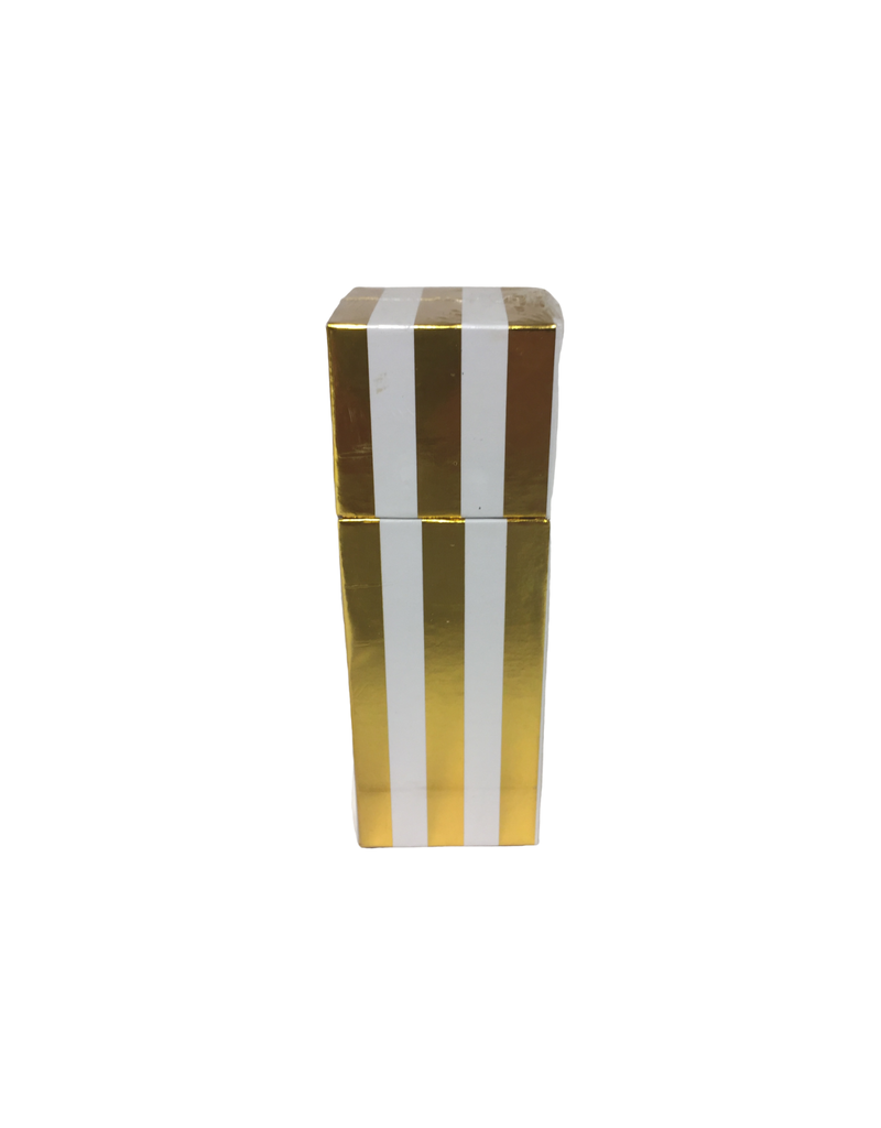 Gold Stripe Boxed Matches