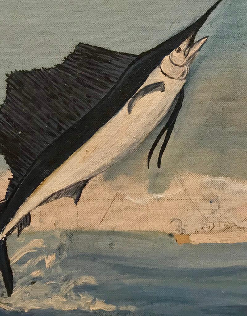 Vintage Swordfish on Board