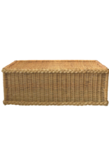 Vintage Rattan Bench or Coffee Table