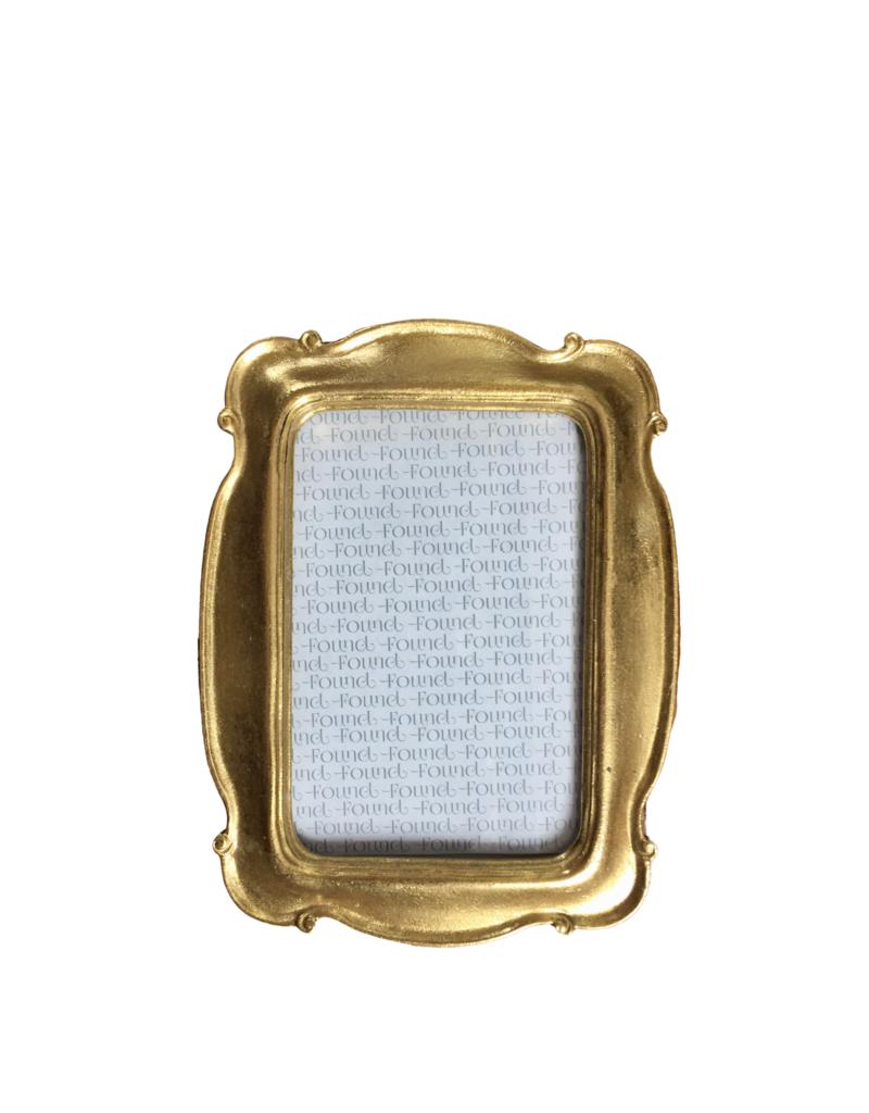Gold Scroll Frame 4x6