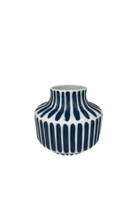 Mini Blue & White Bud Vase