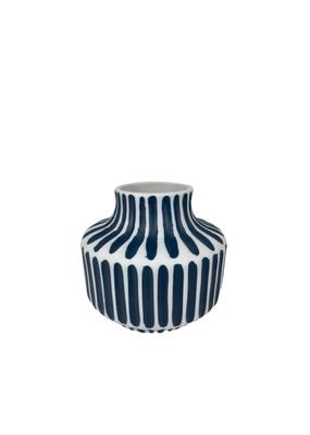 Mini Blue & White Bud Vase