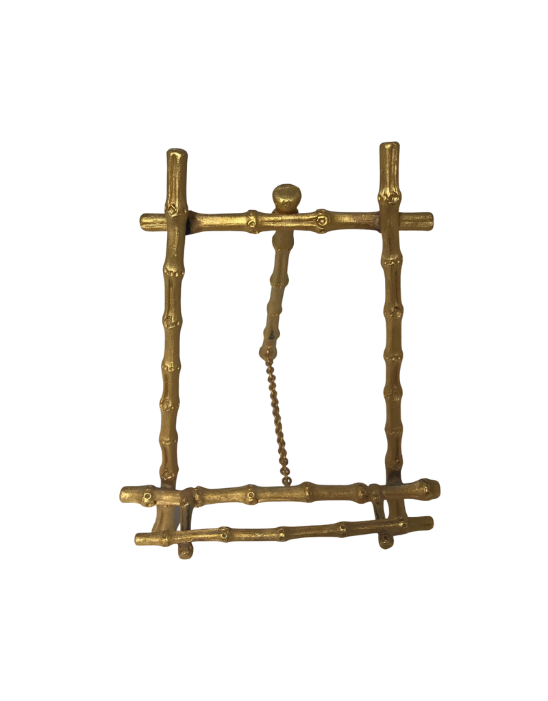 Vintage Metal Bamboo Stand