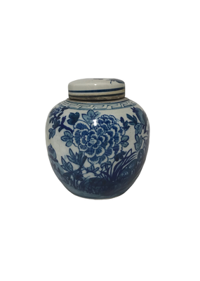 Lotus Ginger Jar