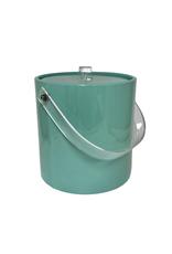 Vintage Aqua Ice Bucket