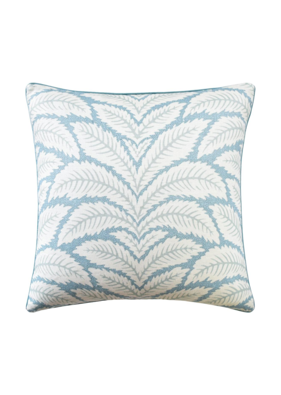 Aqua Fern Pillow