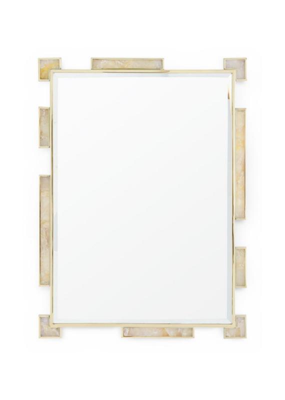 Gold & Quartz Mirror