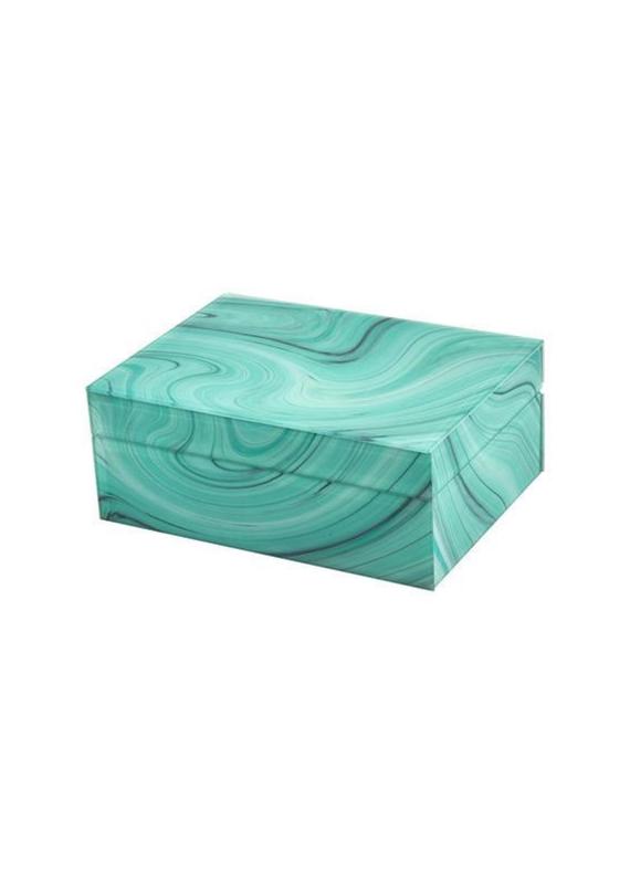 Green Marbelized Box