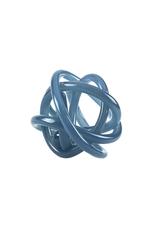 Blue Glass Knot