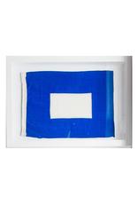 Vintage Framed Signal Flag