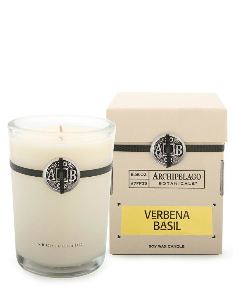 Verbena Basil Candle in a Box