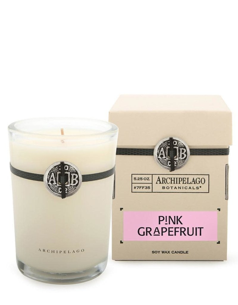 Pink Grapefruit Candle in a Box