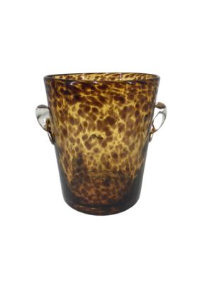 Vintage Glass Tortoise Ice Bucket