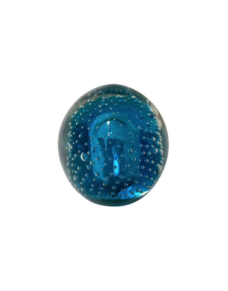 Vintage Turquoise Paperweight
