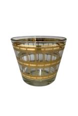 Vintage Gold Textured Ice Bucket