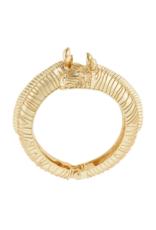 Gold Zebra Cuff