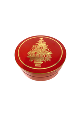 Vintage Christmas Tree Coasters in Box