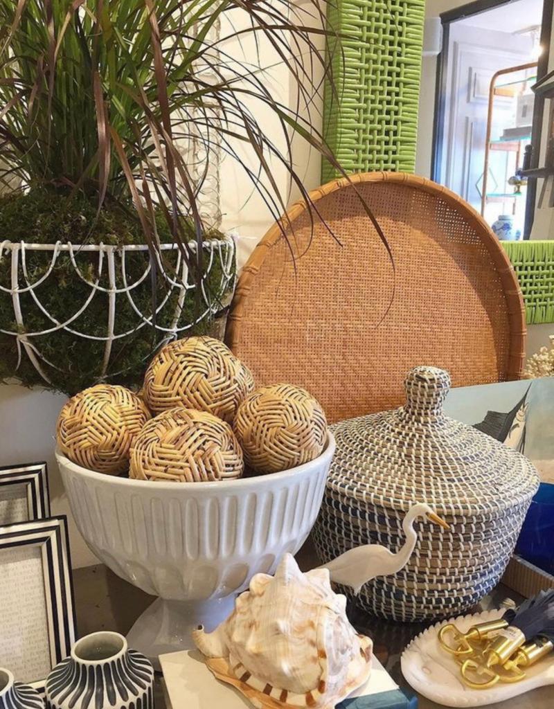 Large Rattan Decorative Ball