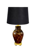 Vintage Glass Tortoise Lamp
