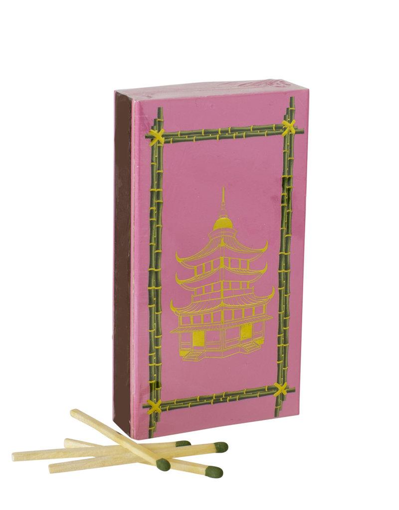 Pink Pagoda Boxed Matches