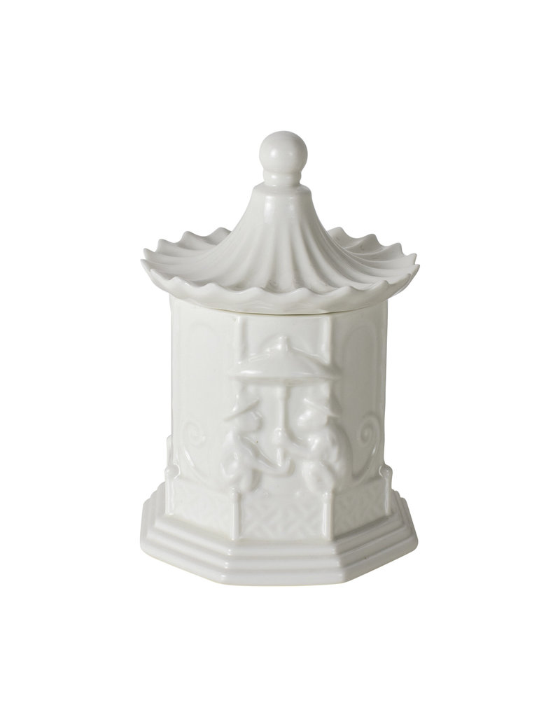 Lidded Pagoda Candle