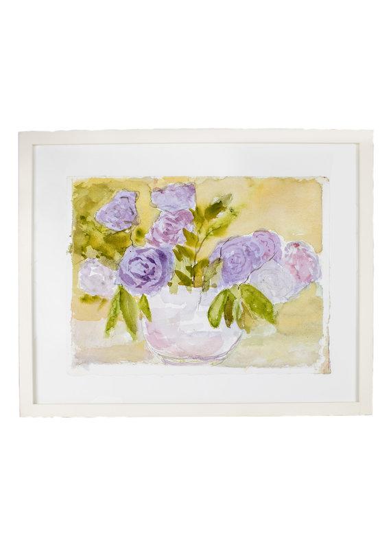 Vintage Rose Watercolor
