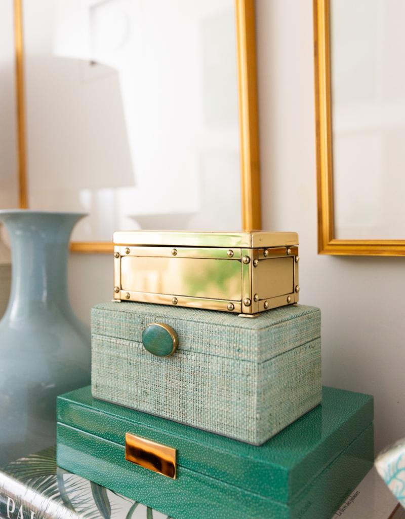 Green Shagreen Box