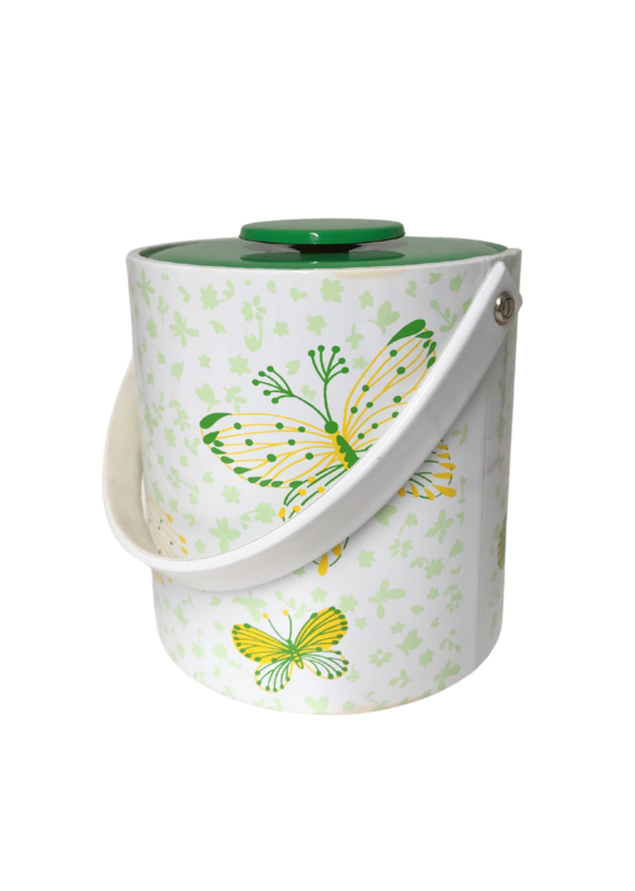 Vintage Butterfly Ice Bucket