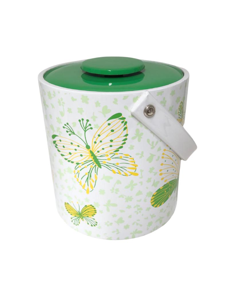 Vintage Butterfly Ice Bucket