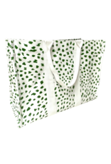 Green Cheetah Tote
