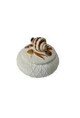 Vintage Ceramic Shell Box